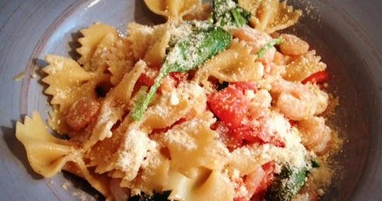 going the distance noodles  co pasta fresca and shrimp