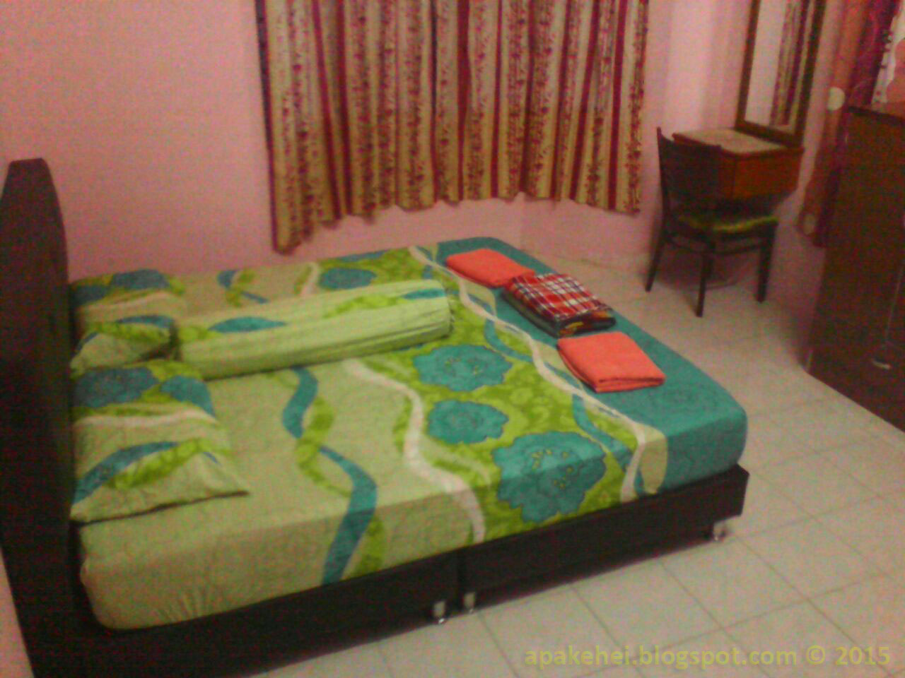 Homestay AST - Master bed room