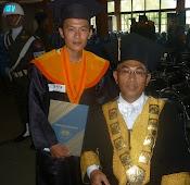 Bareng Rektor Untan, Prof DR Chairil Efendi Msi