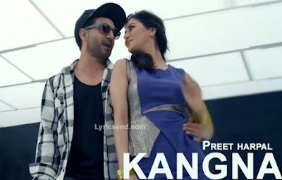 KANGNA LYRICS - Preet Harpal | Kuwar Virk Music