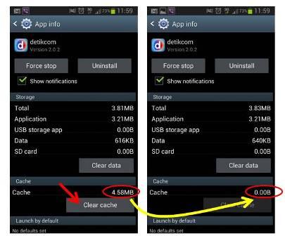 Menghapus (Clear) Cache Aplikasi Android dengan aplikasi Pihak ketiga