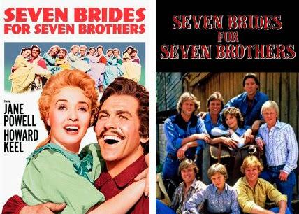 'Seven brides for seven brothers', Películas convertidas en series