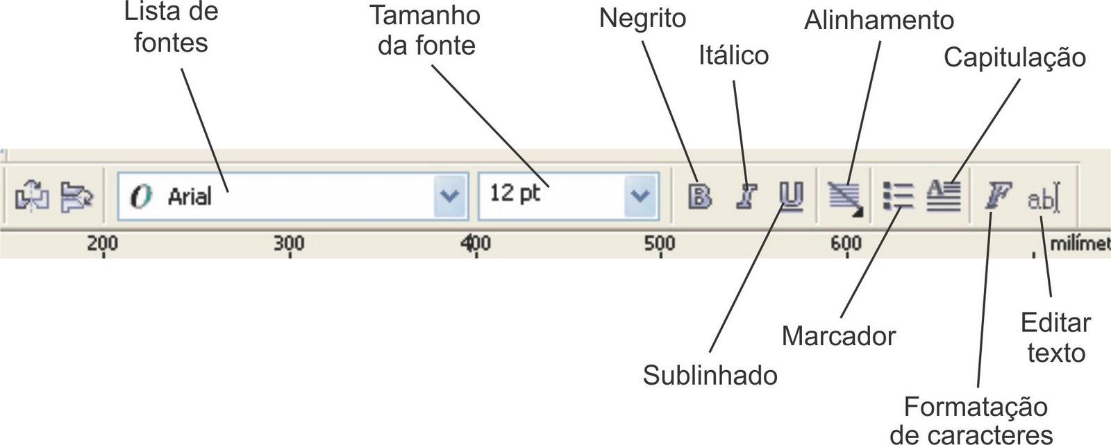 Curso de corel grtis texto de pargrafo para adicionar um texto de pargrafo siga estes passos ccuart Images