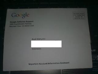 PIN dari Google Adsense