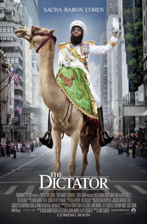 The Dictator: Theatrical Release Poster