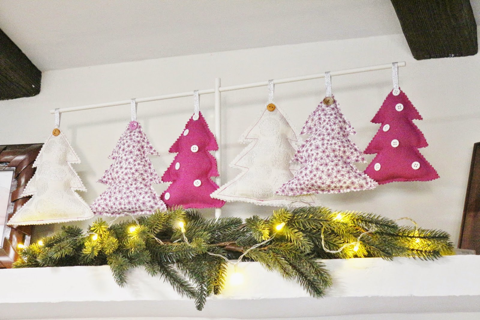El blog de coser f cil y m s by menudo numerito for Adornos de navidad para hacer en casa