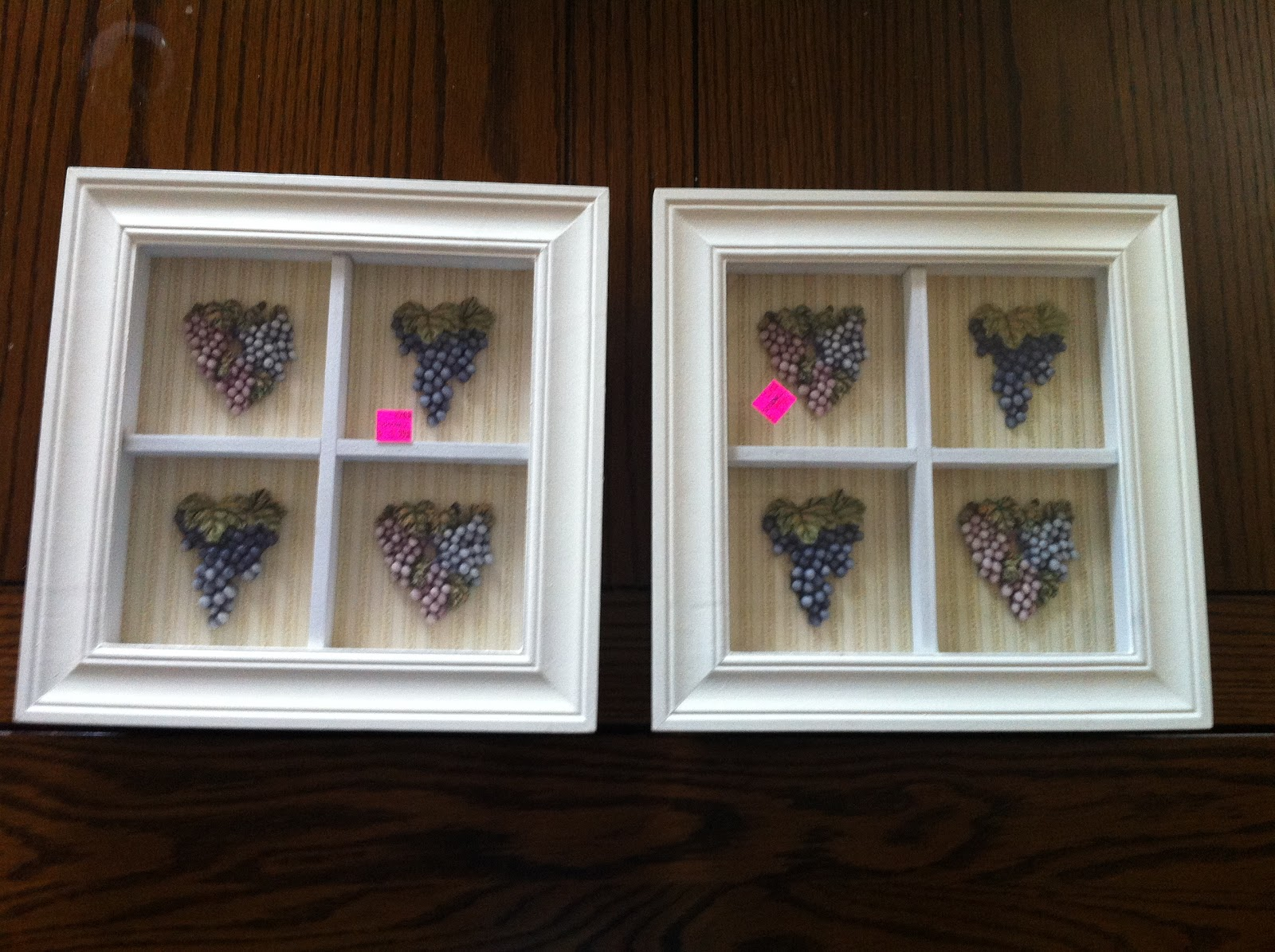 Simply Inspired: Handmade Crafts: Repurposed Goodwill Frames: Bathroom