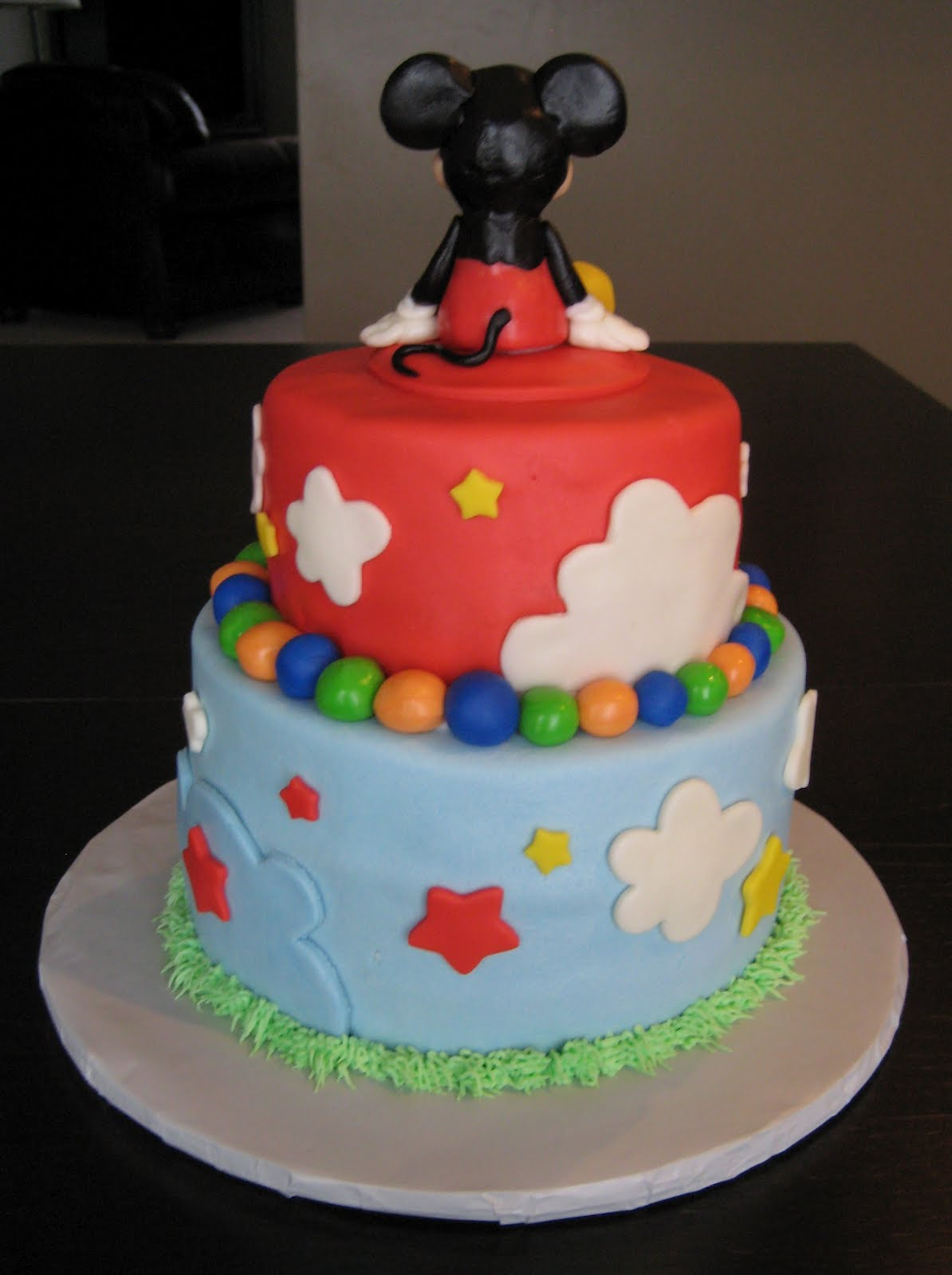 Cake Images Of Mickey Mouse : Custom Cakes by Julie: Mickey Mouse Clubhouse Cake IV