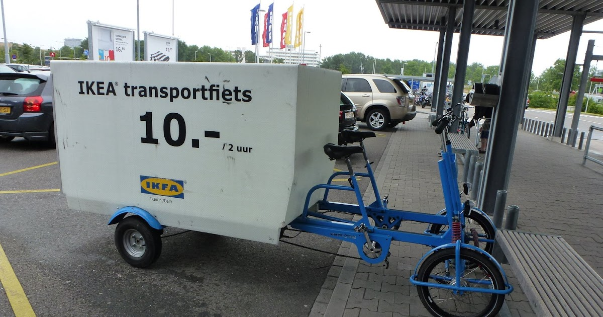 Revolving transportation freight bicycle delivery by ikea for Ikea portland hours