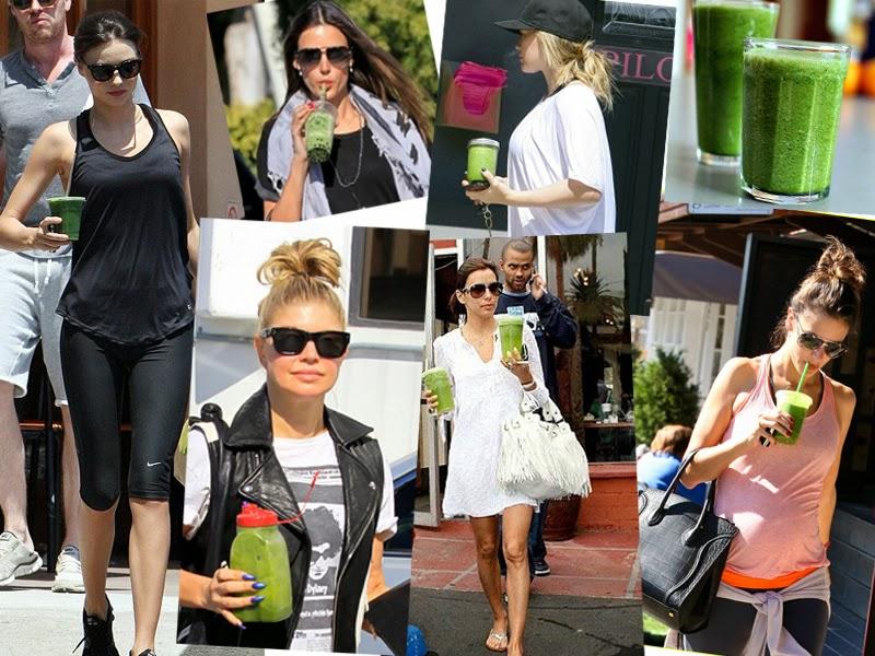 Suco verde para sua beleza