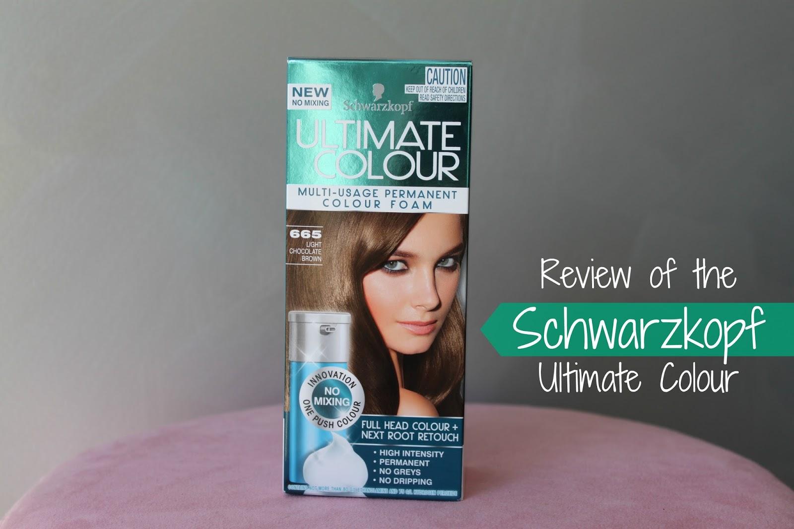 Australian Beauty Review Review Of The Schwarzkopf