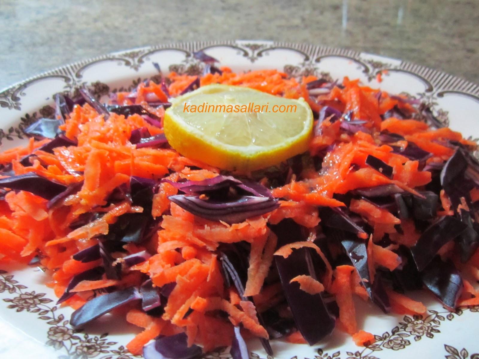 Kırmızı Lahana Salatası