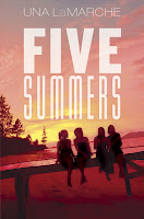 book cover of Five Summers by Una LaMarche