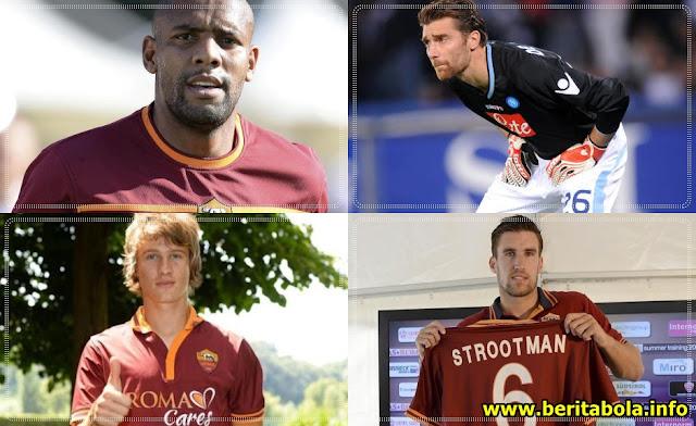 Bursa Transfer Pemain Terbaru AS Roma 2013/2014