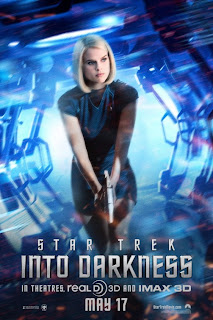Alice Eve Star Trek Into Darkness Poster