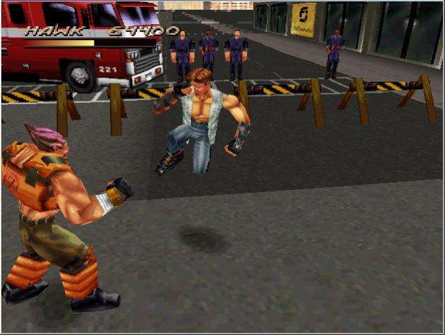 """لعبة الأثارة والأكشن فتوات الشوارع """"Fighting Force"""" محوله للكمبيوتر بدون برامج تشغيل"""