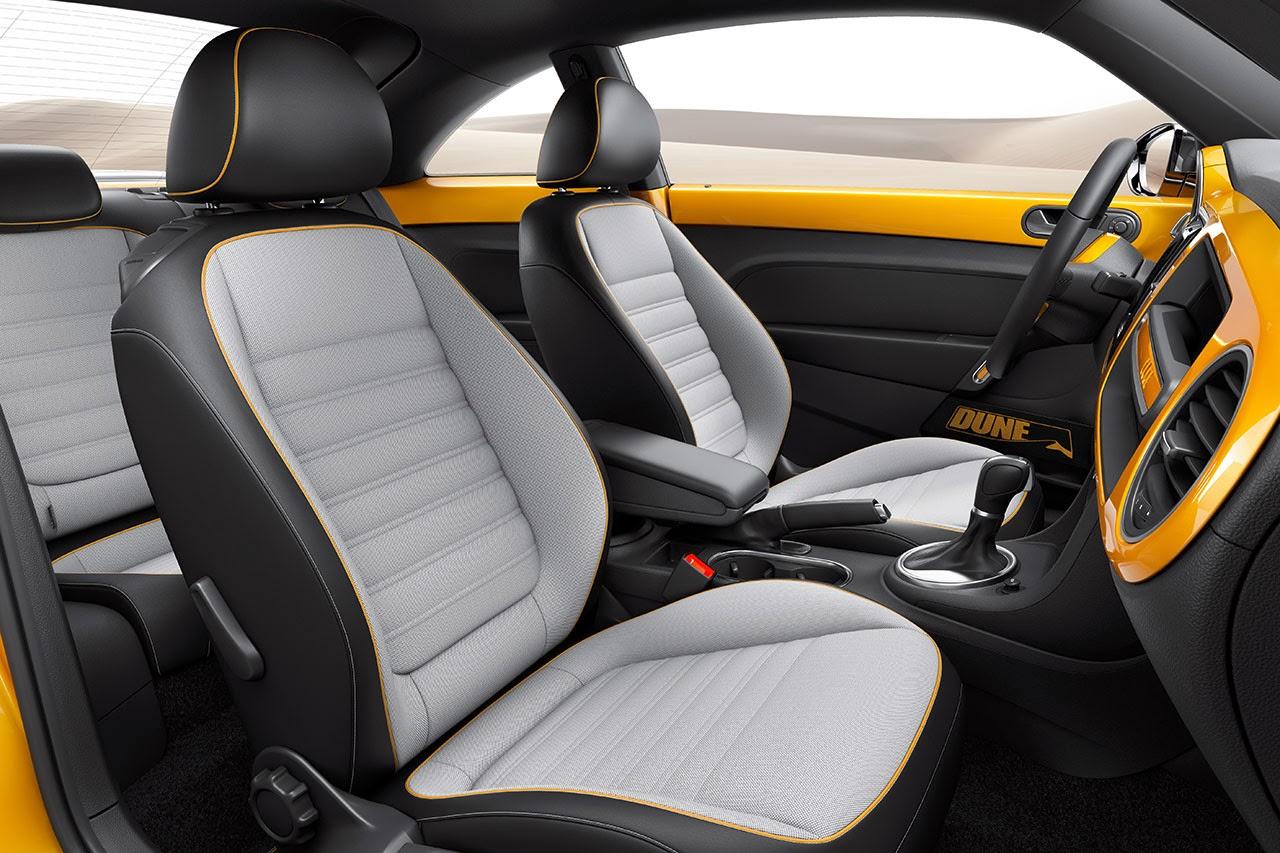 Volkswagen Beetle Dune Concept Car interior