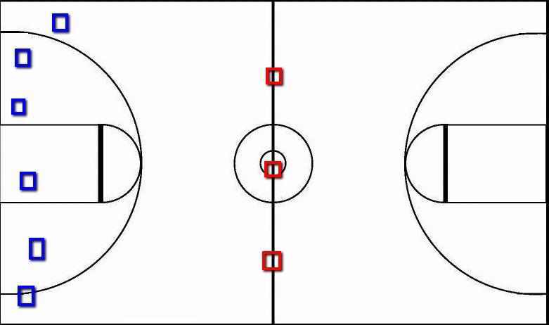 game board diagram