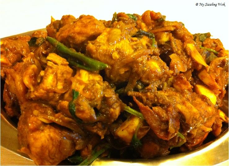 My Sizzling Wok: Chicken Masala