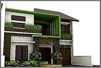 Warna Rumah Minimalis Modern Dengan Nuansa Tropis