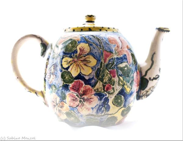 Psynopsis MyFavouriteThings Floral Vintage Teapot MR 1939