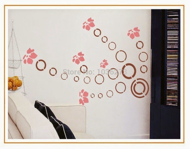 custom wall stencil designs