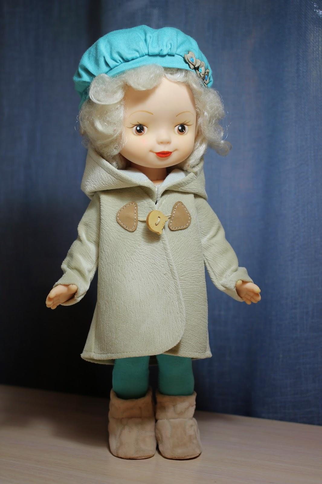 пальто кукле