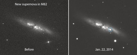 http://www.universetoday.com/108386/bright-new-supernova-blows-up-in-nearby-m82-the-cigar-galaxy/