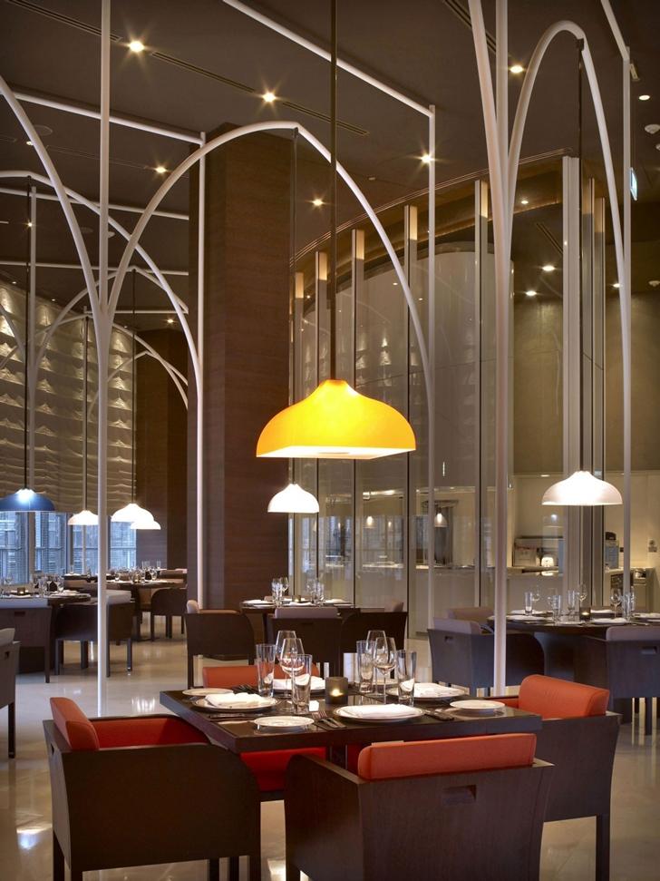 Restaurant in Armani Burj Khalifa Hotel Dubai
