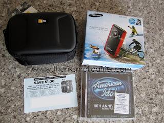 Samsung camcorder giveaway