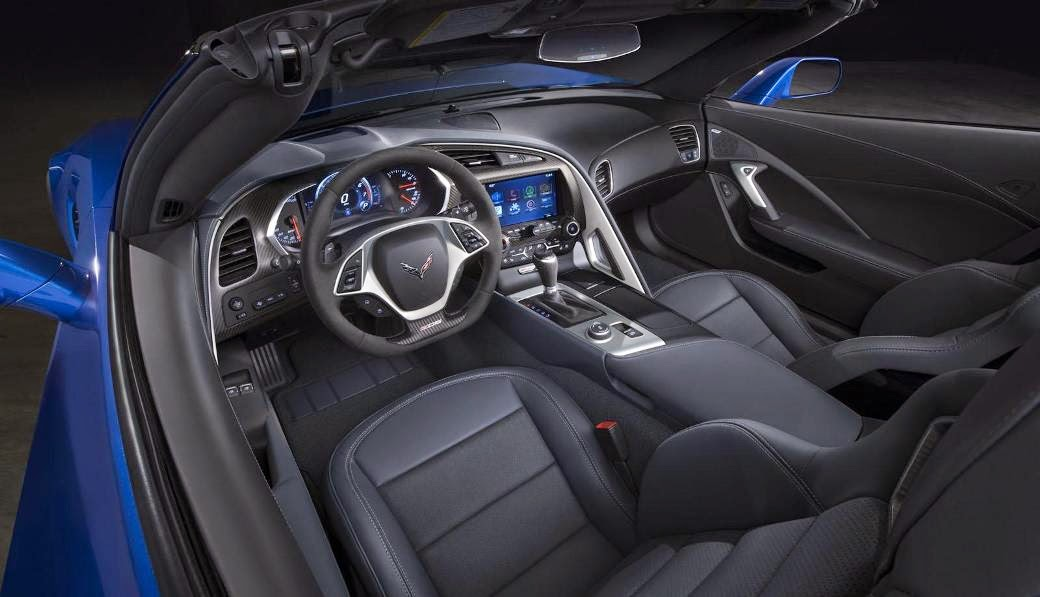 2015 New Chevrolet Corvette Z06 Convertible interior