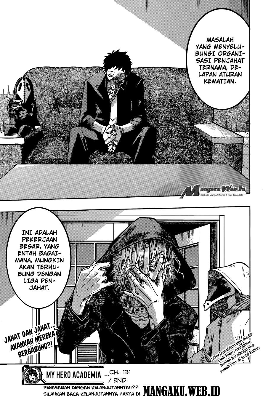 Boku no Hero Academia Chapter 131-18