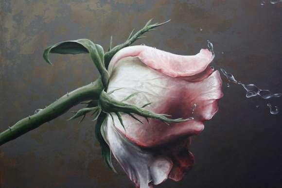 Flowers Painting Wallpaper 01