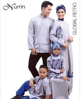 Kumpulan Baju Muslim Keluarga untuk Lebaran