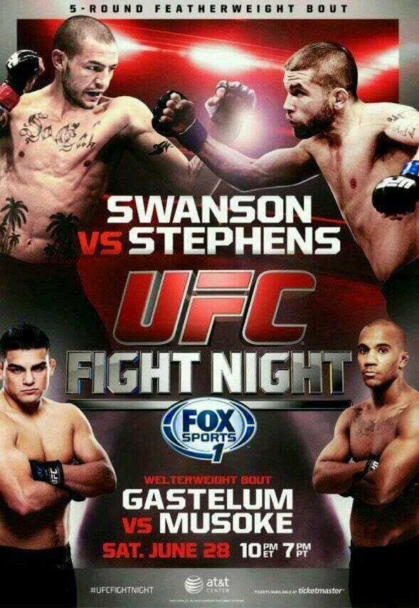 UFC Fight Night: Swanson vs. Stephens