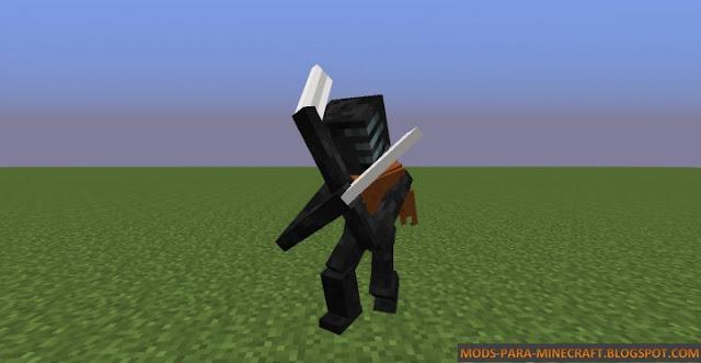 Morbid Reborn es un mod que agrega a un mob que lo hará temblar de miedo - The Morbid Reborn Mod para Minecraft 1.7.10