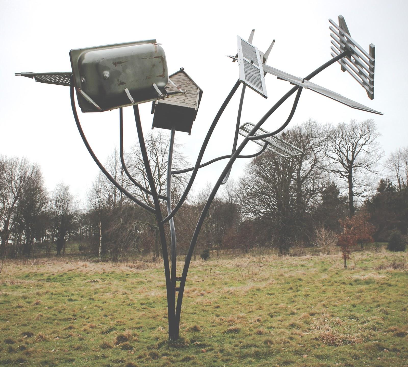 Yorkshire Sculpture Park - Dennis Oppenheim