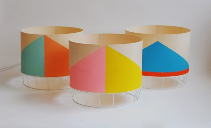 geometric lamp from colonel
