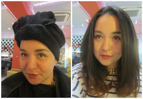 L'Oreal Colour Pop Treatment Before and After