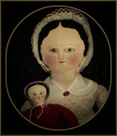Hand Painted Cloth Dolls