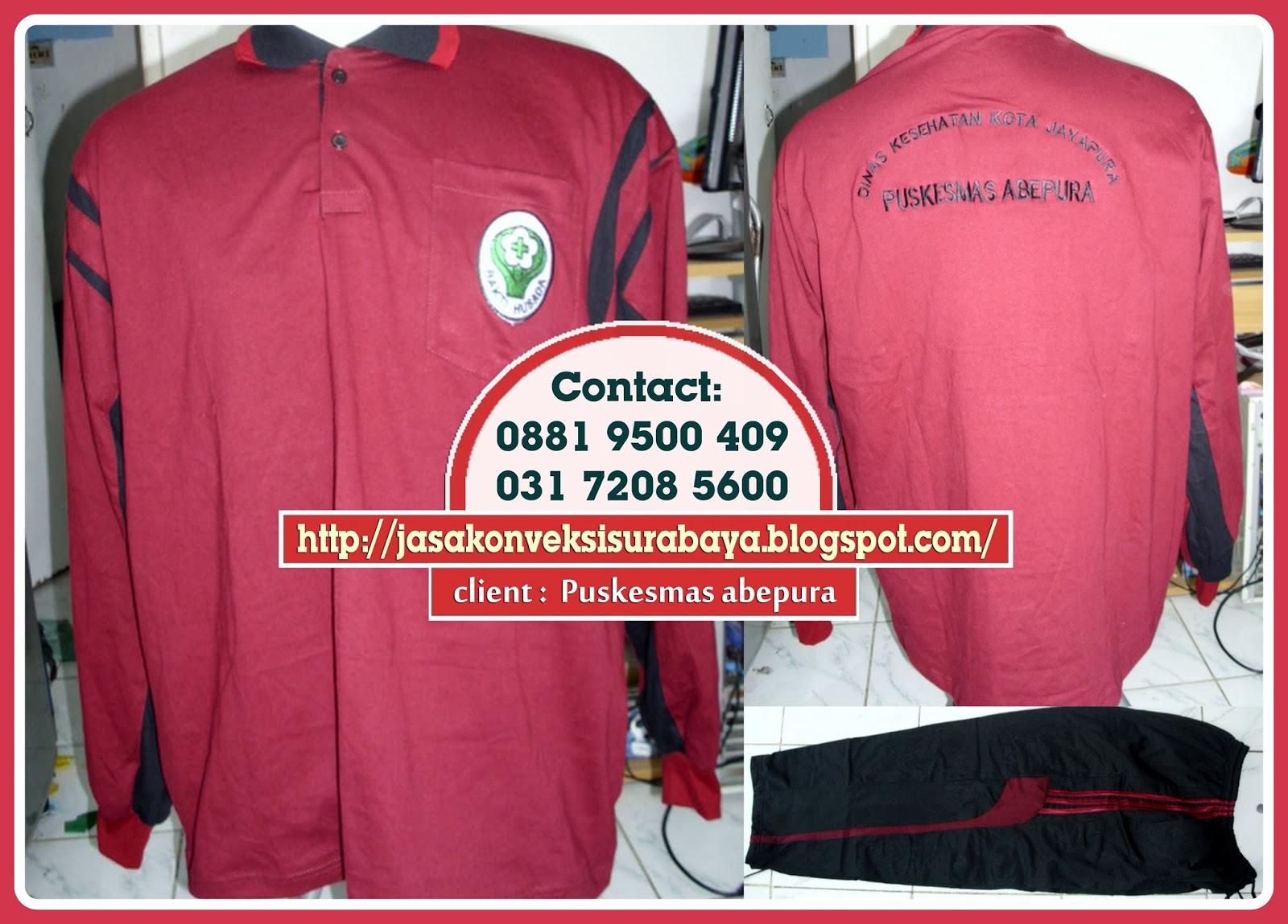 Pesan Grosir Baju Olahraga bordir, Pesan Grosir Baju Olahraga kantor, Pesan Grosir Baju Olahraga Surabaya,