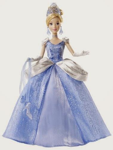 Disney Princess Cinderella Holiday Princess Doll