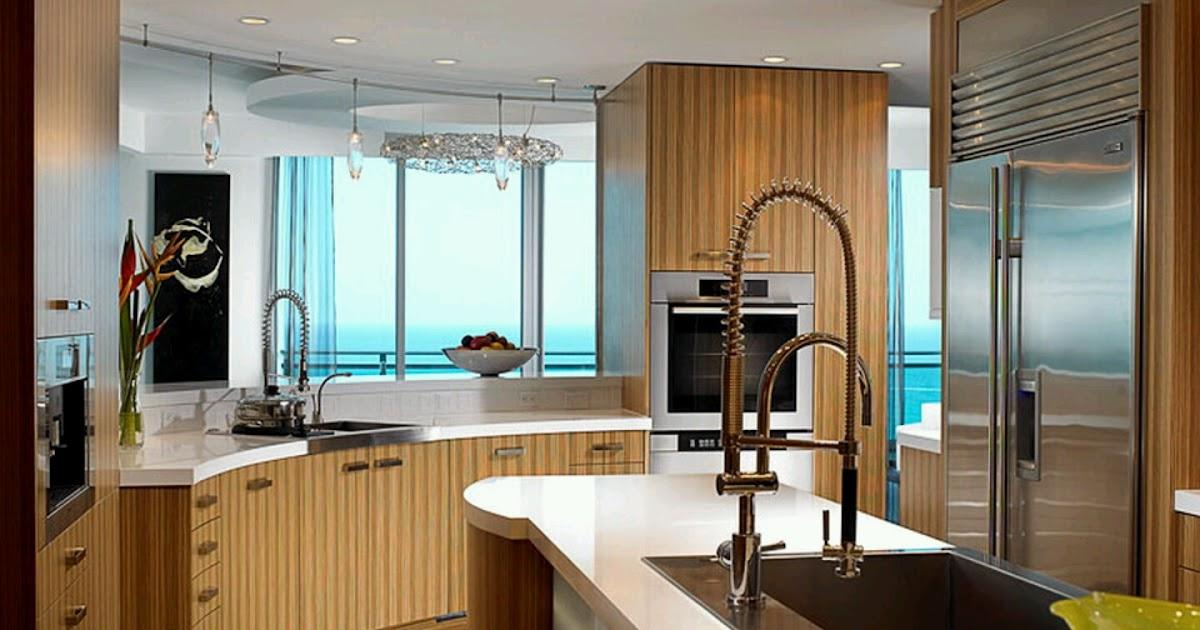 Modern wooden kitchen cabinets designs furniture gallery for New kitchen designs 2013