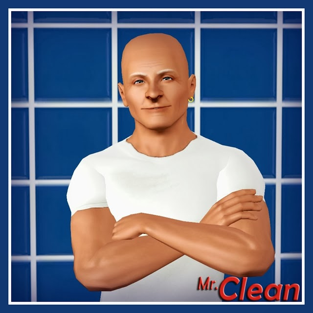 My Sims 3 Blog: Mr. Clean by k2m1too (K2)
