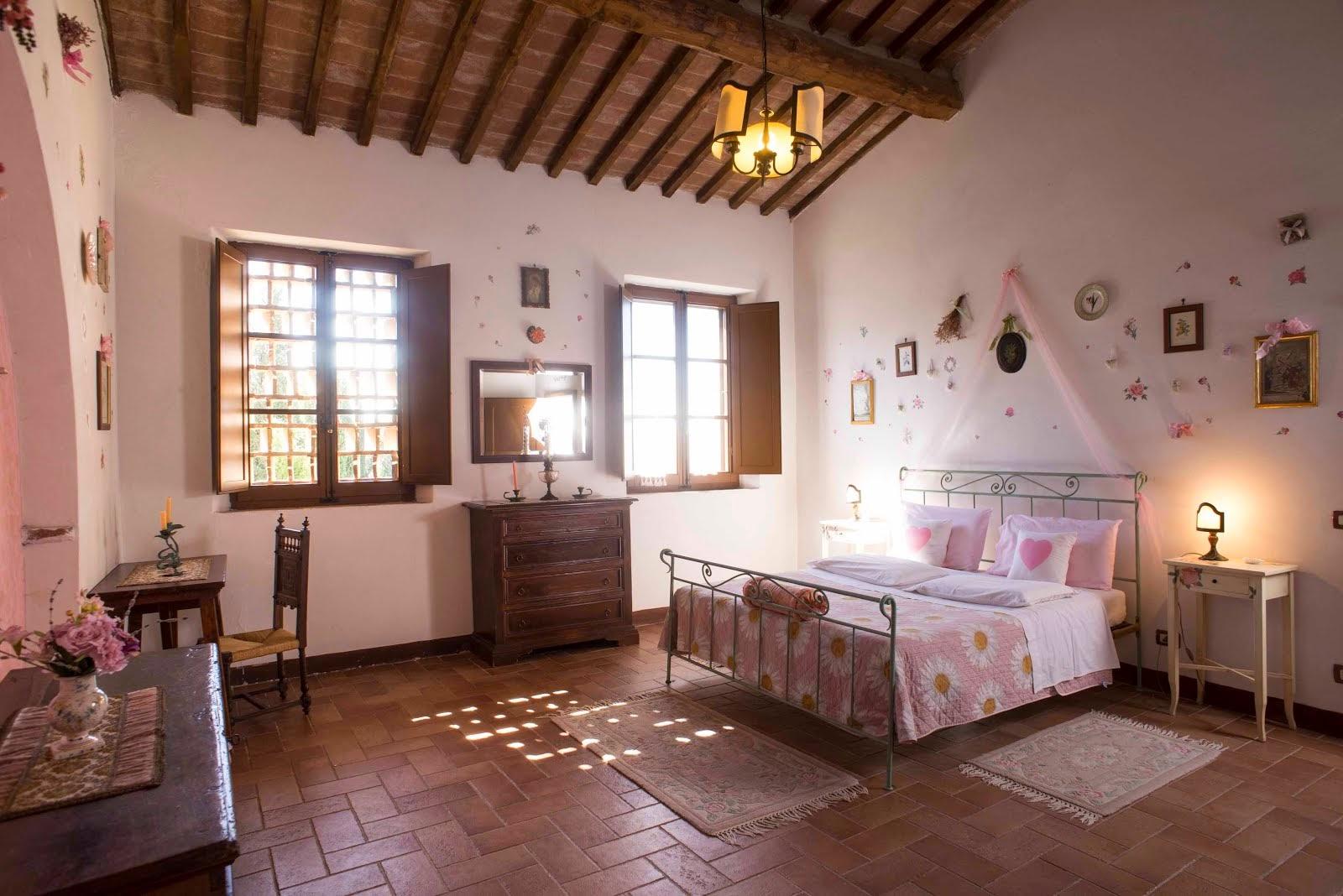 foto camera appartamenti agriturismo Aia Vecchia di Montalceto