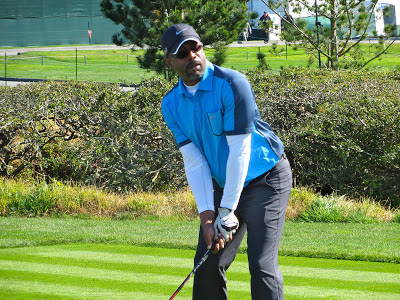 Singer Darius Rucker at the AT&T Pebble Beach National Pro-Am Golf Tournament