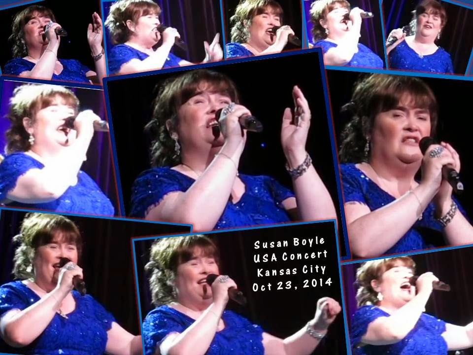 Susan Boyle in Kansas City