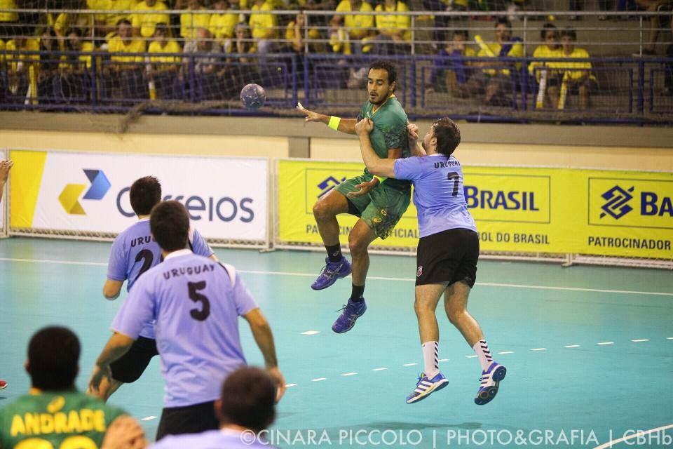 Goleada brasileña sobre Uruguay (masculino) en amistoso | Mundo Handball