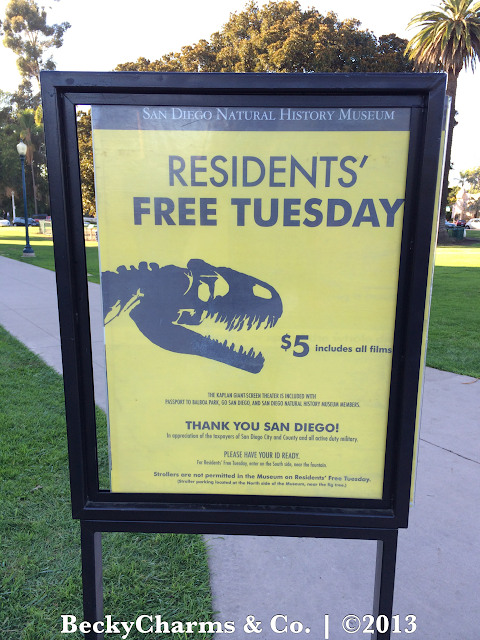 San Diego NAT Natural History Museum    Balboa Park for Free Tuesday by BeckyCharms