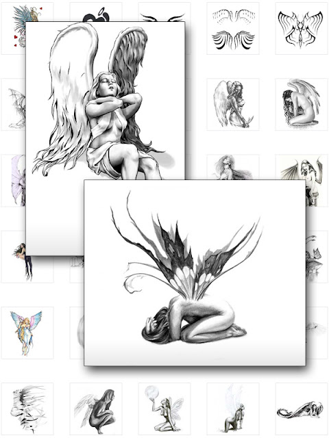 Fairy Tattoos And Angel Tattoo